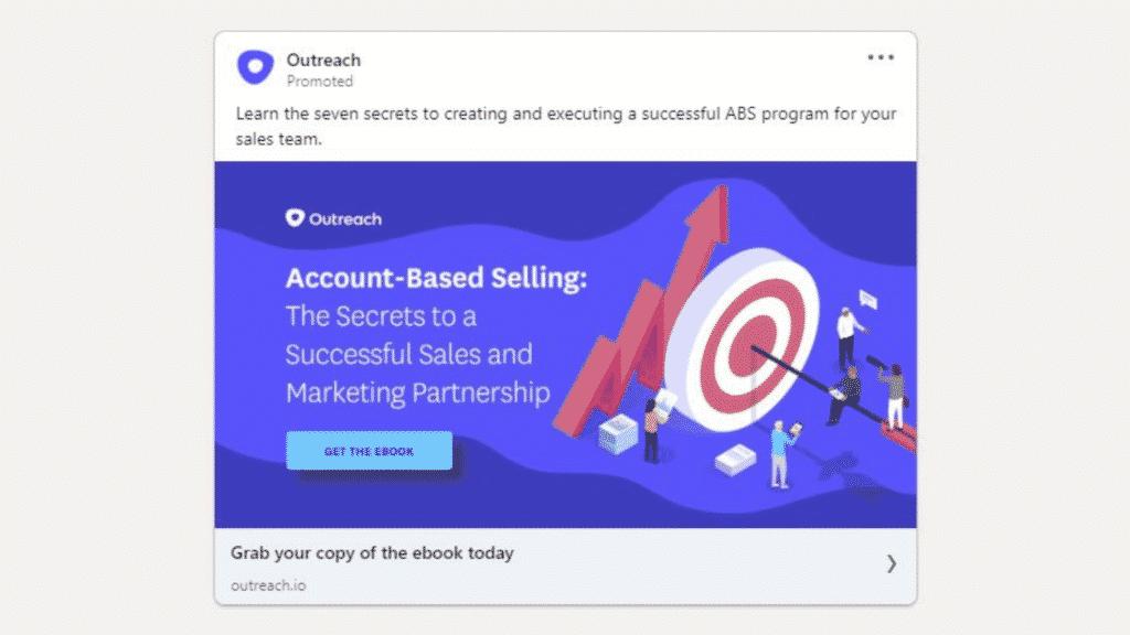 Linkedin Anzeigen Beispiel Outreach Ebook Download
